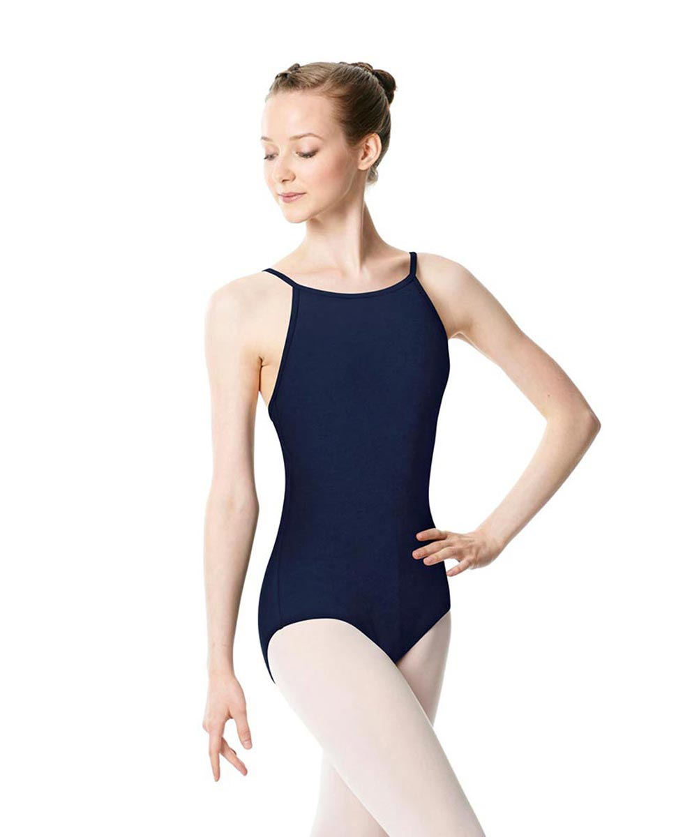 Adults High Jewel Neck Camisole Ballet Leotard Calla NAY