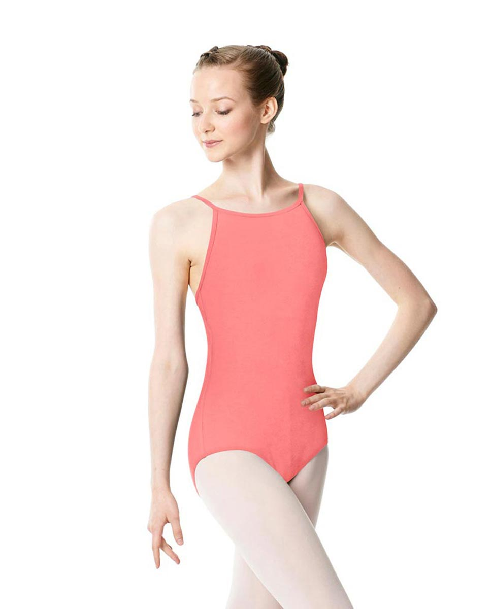 Adults High Jewel Neck Camisole Ballet Leotard Calla PEAC