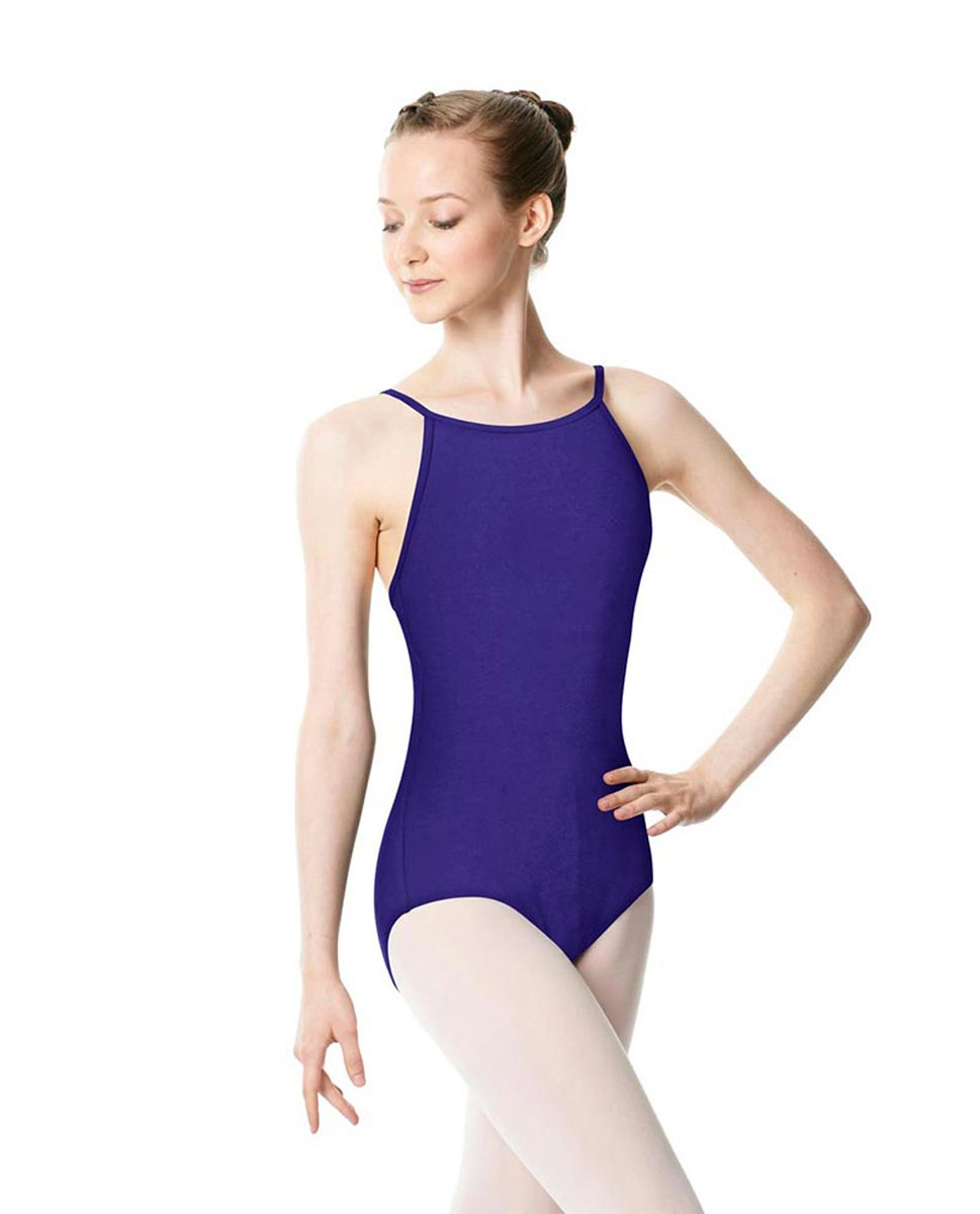 Adults High Jewel Neck Camisole Ballet Leotard Calla ROY