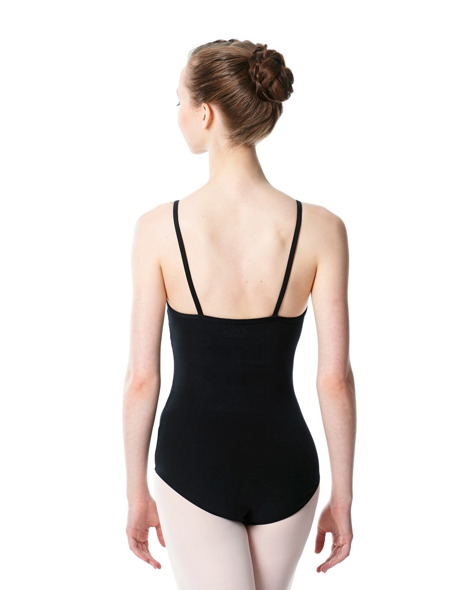 Adults High Jewel Neck Camisole Ballet Leotard Calla back