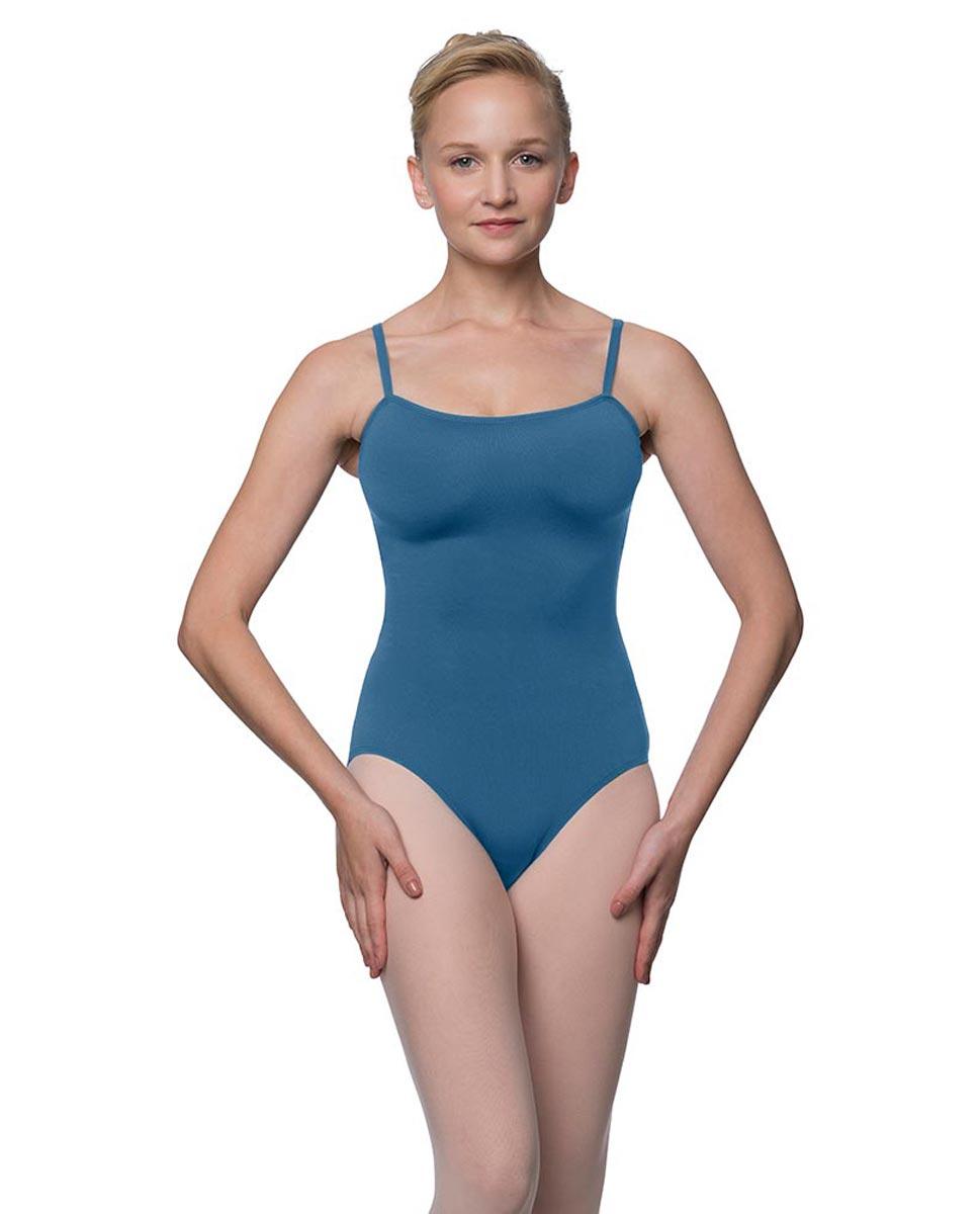 Scoop Neck Camisole Dance Leotard Moira BLUE