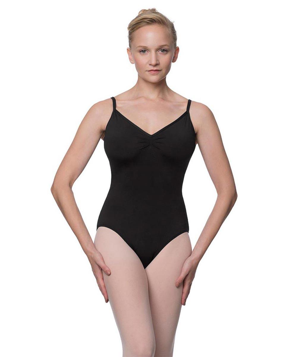 Womens V-Back Camisole Ballet Leotard Malinda BLK
