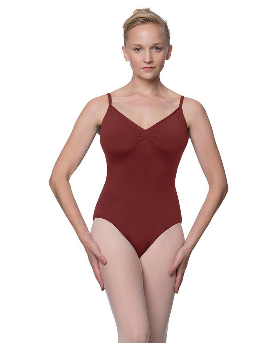 Womens V-Back Camisole Ballet Leotard Malinda BUR