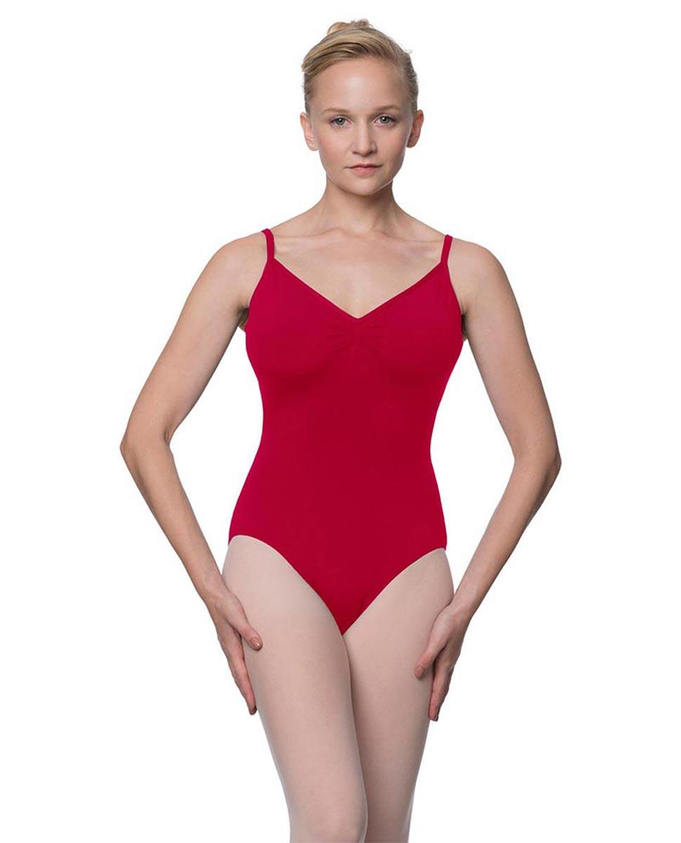 Womens V-Back Camisole Ballet Leotard Malinda DRED