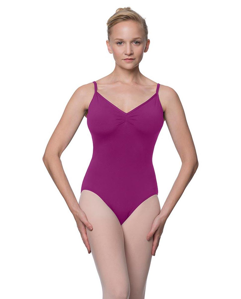 Womens V-Back Camisole Ballet Leotard Malinda GRAP