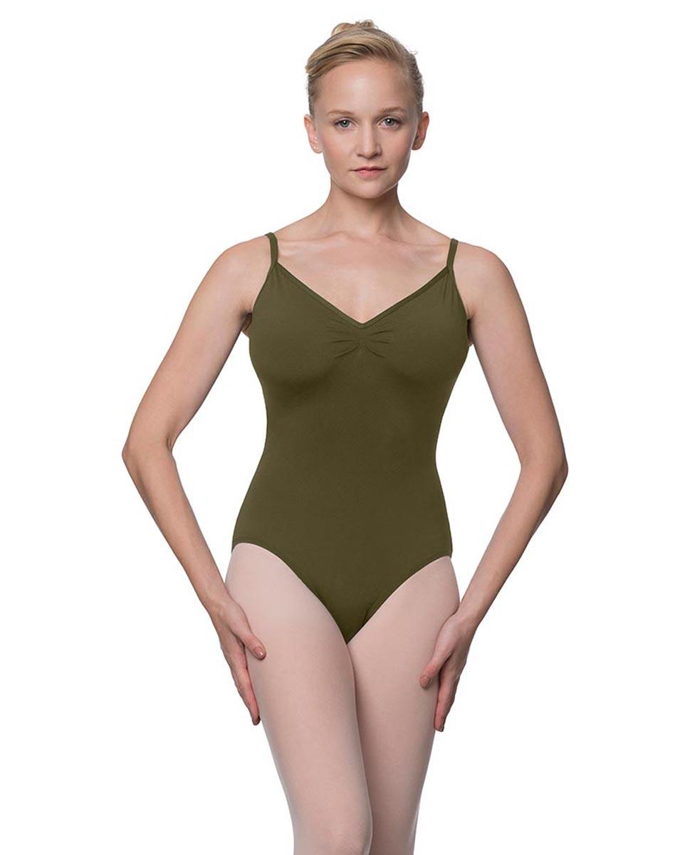 Womens V-Back Camisole Ballet Leotard Malinda KHA