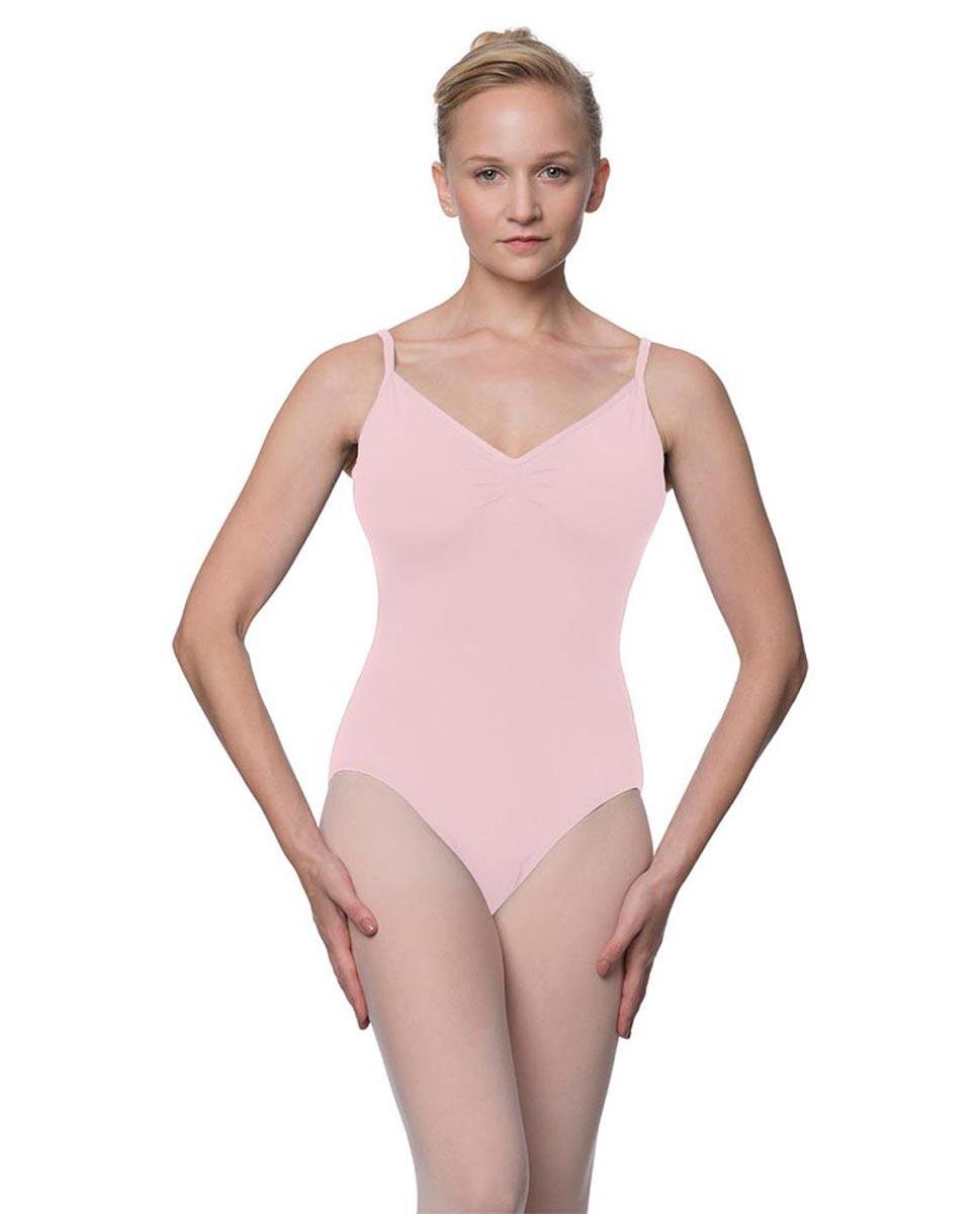 Womens V-Back Camisole Ballet Leotard Malinda PNK