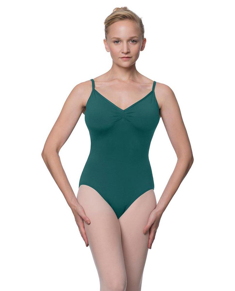 Womens V-Back Camisole Ballet Leotard Malinda TEA