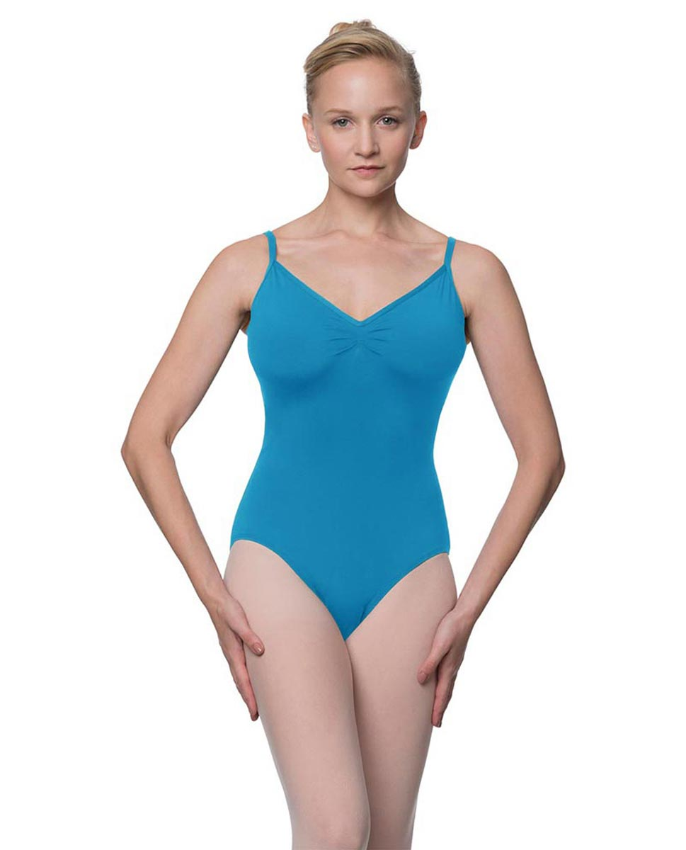 Womens V-Back Camisole Ballet Leotard Malinda TUR