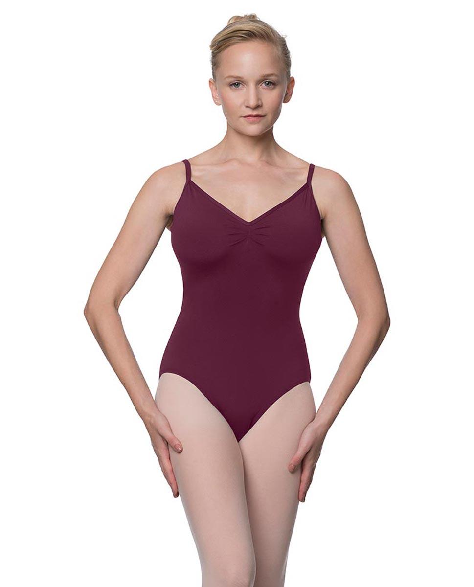 Womens V-Back Camisole Ballet Leotard Malinda WINE