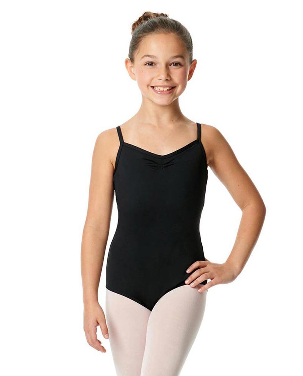 Child V-Back Camisole Dance Leotard Malinda BLK