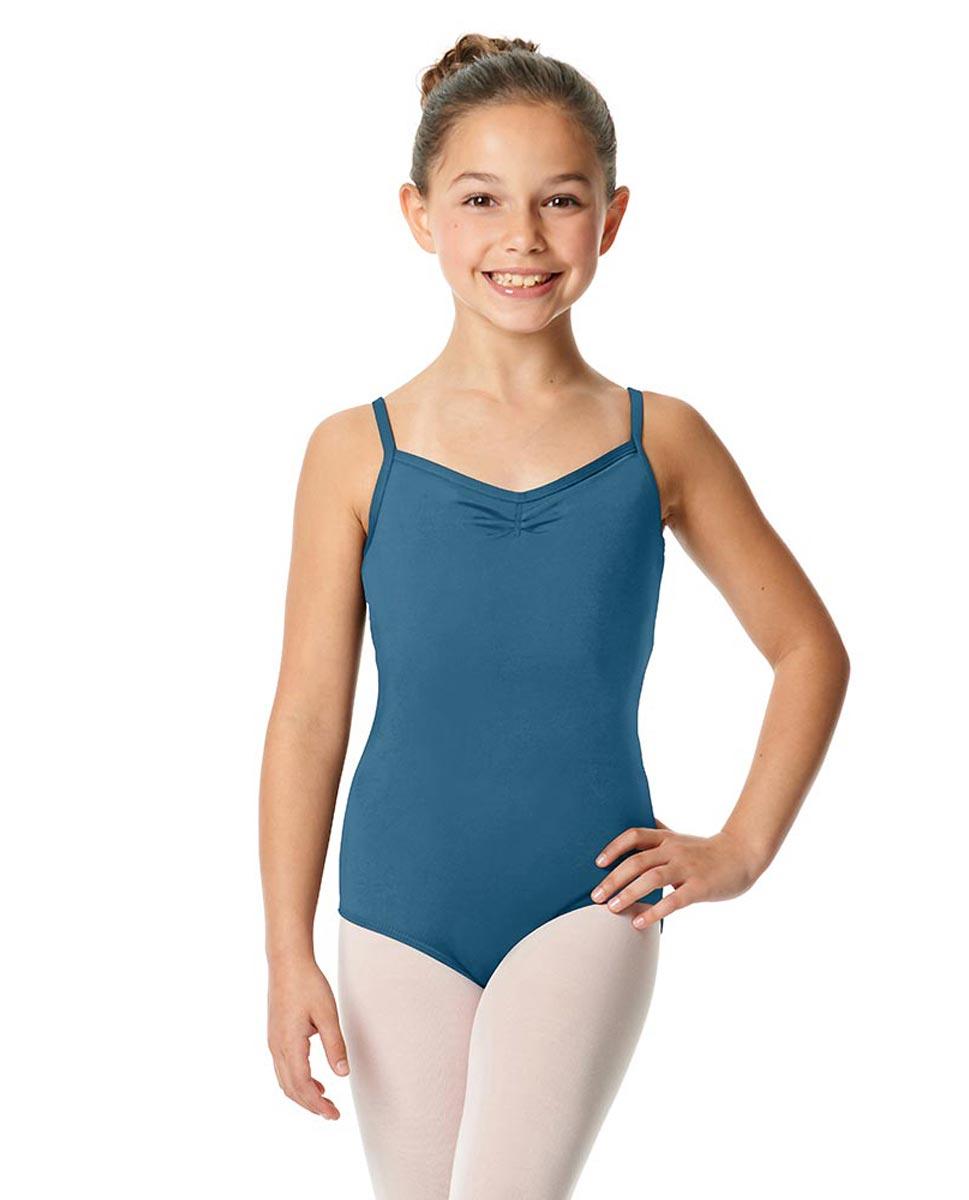 Child V-Back Camisole Dance Leotard Malinda BLUE