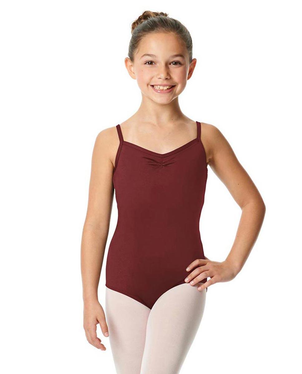 Child V-Back Camisole Dance Leotard Malinda BUR