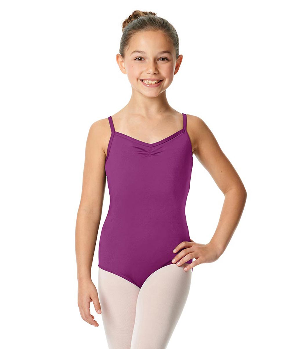 Child V-Back Camisole Dance Leotard Malinda GRAP