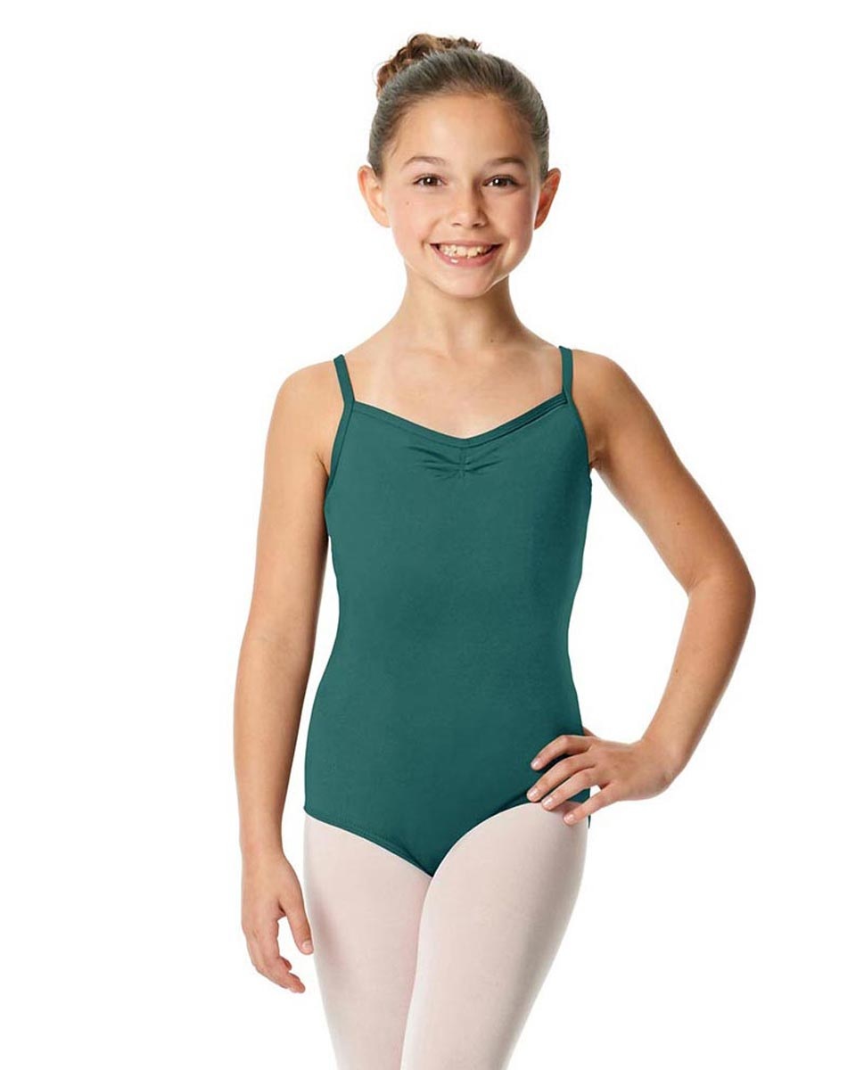 Child V-Back Camisole Dance Leotard Malinda TEA