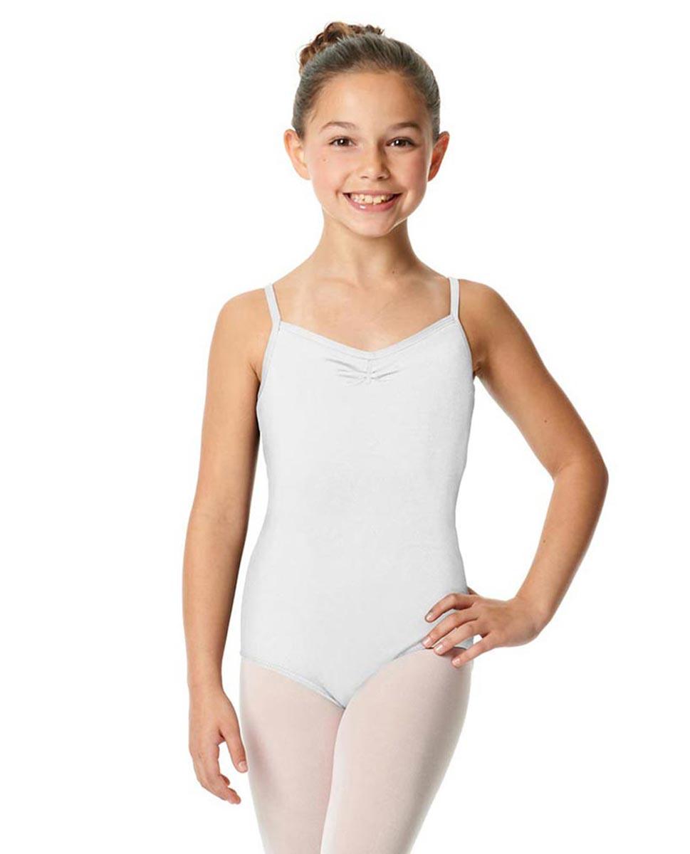 Child V-Back Camisole Dance Leotard Malinda WHI