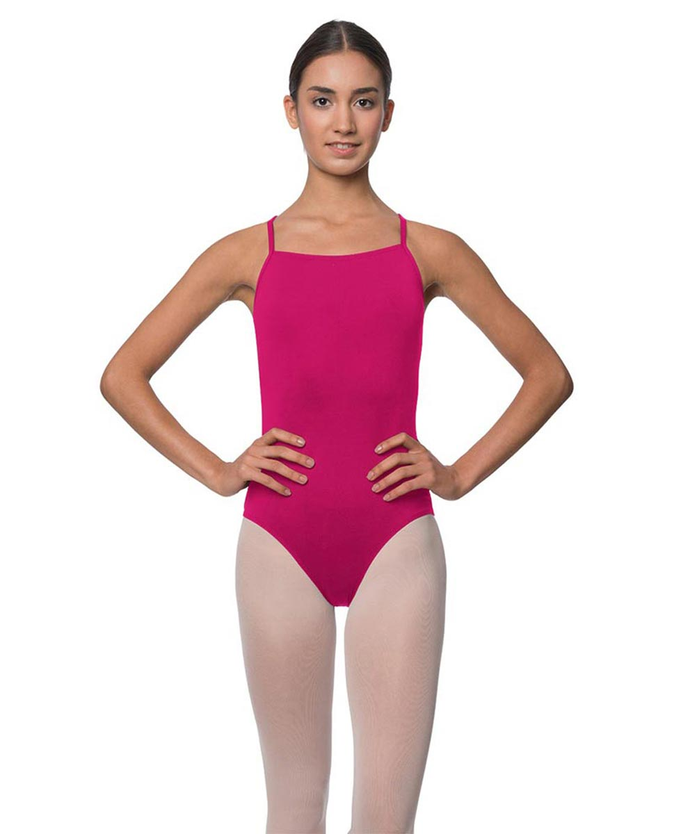 Adults Camisole Deep X-Back Ballet Leotard Raine FUC