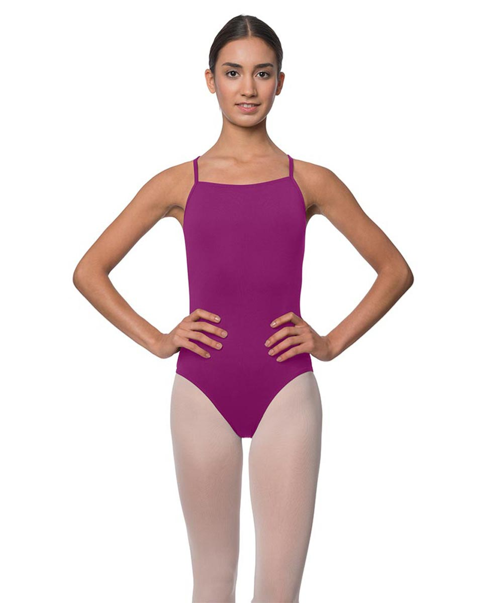 Adults Camisole Deep X-Back Ballet Leotard Raine GRAP
