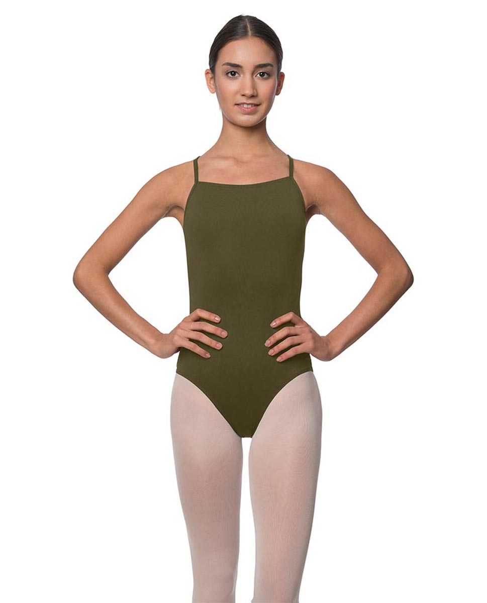 Adults Camisole Deep X-Back Ballet Leotard Raine KHA