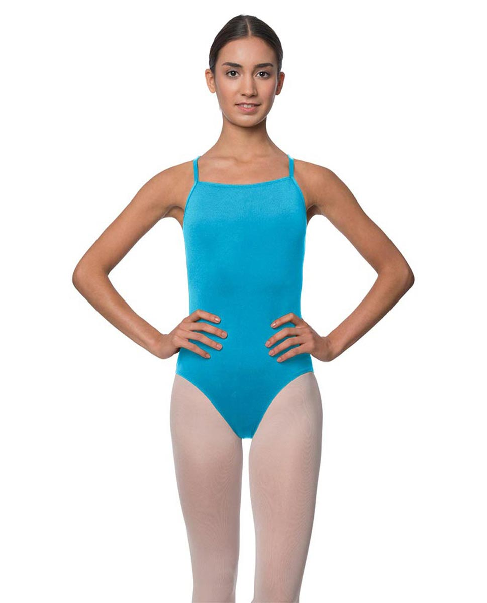 Adults Camisole Deep X-Back Ballet Leotard Raine TUR