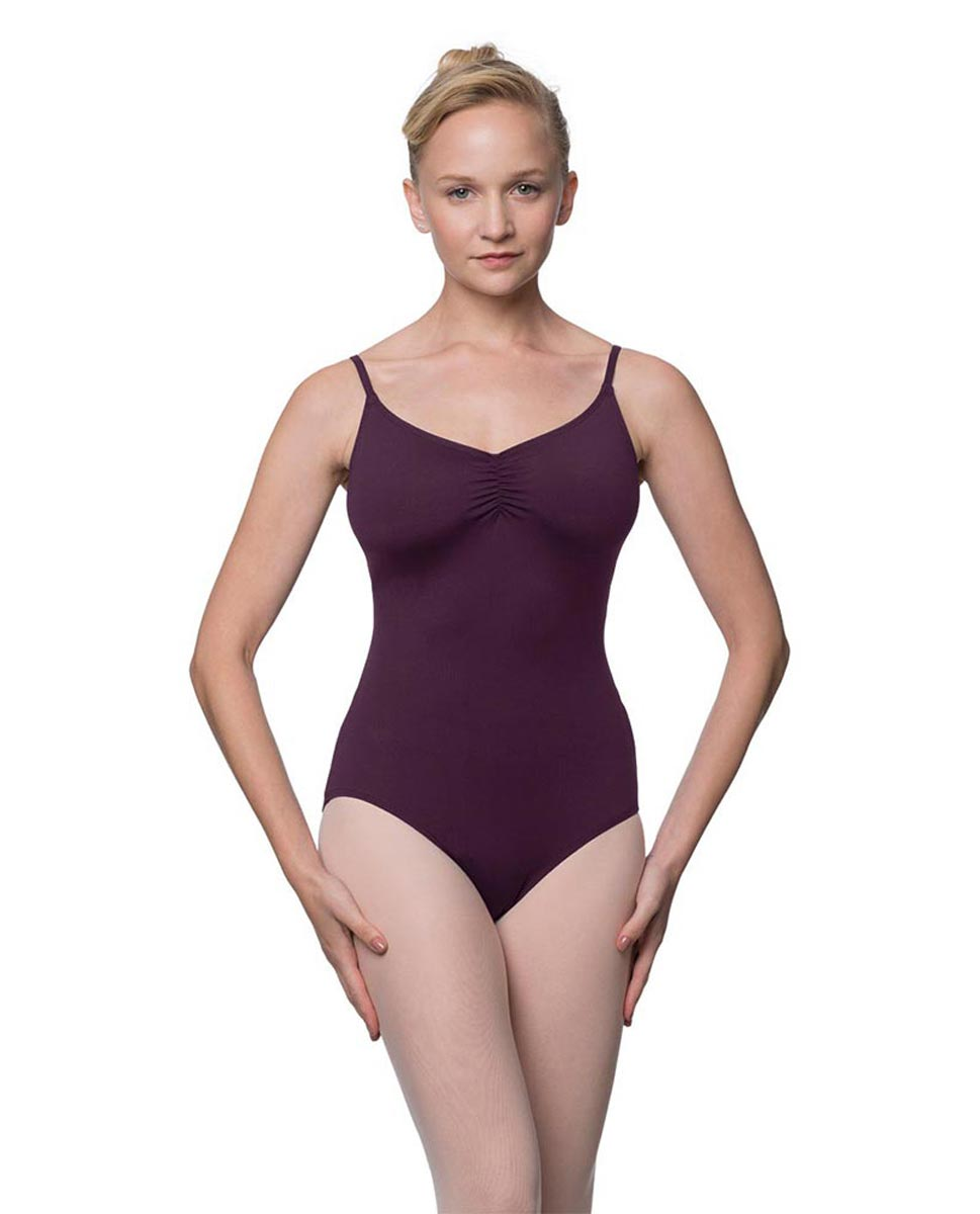 Womens Adjustable Straps Camisole Ballet Leotard Nadia AUB