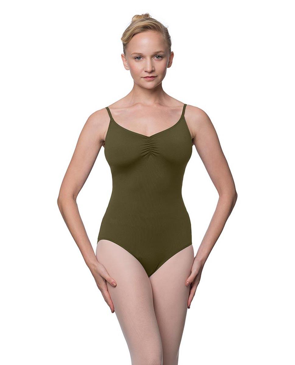Womens Adjustable Straps Camisole Ballet Leotard Nadia KHA