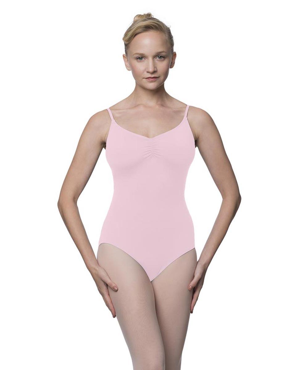 Womens Adjustable Straps Camisole Ballet Leotard Nadia PNK