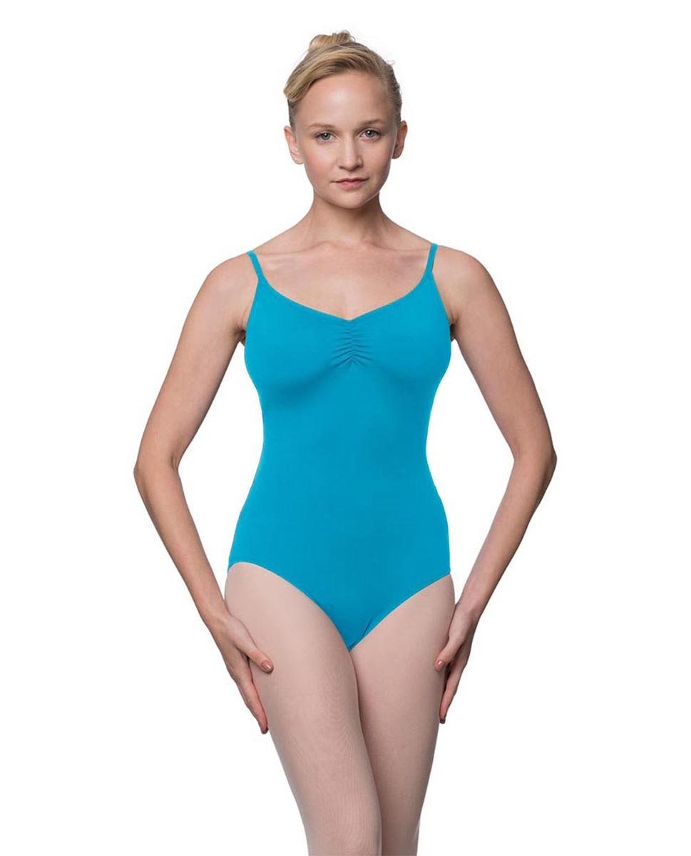 Womens Adjustable Straps Camisole Ballet Leotard Nadia TUR