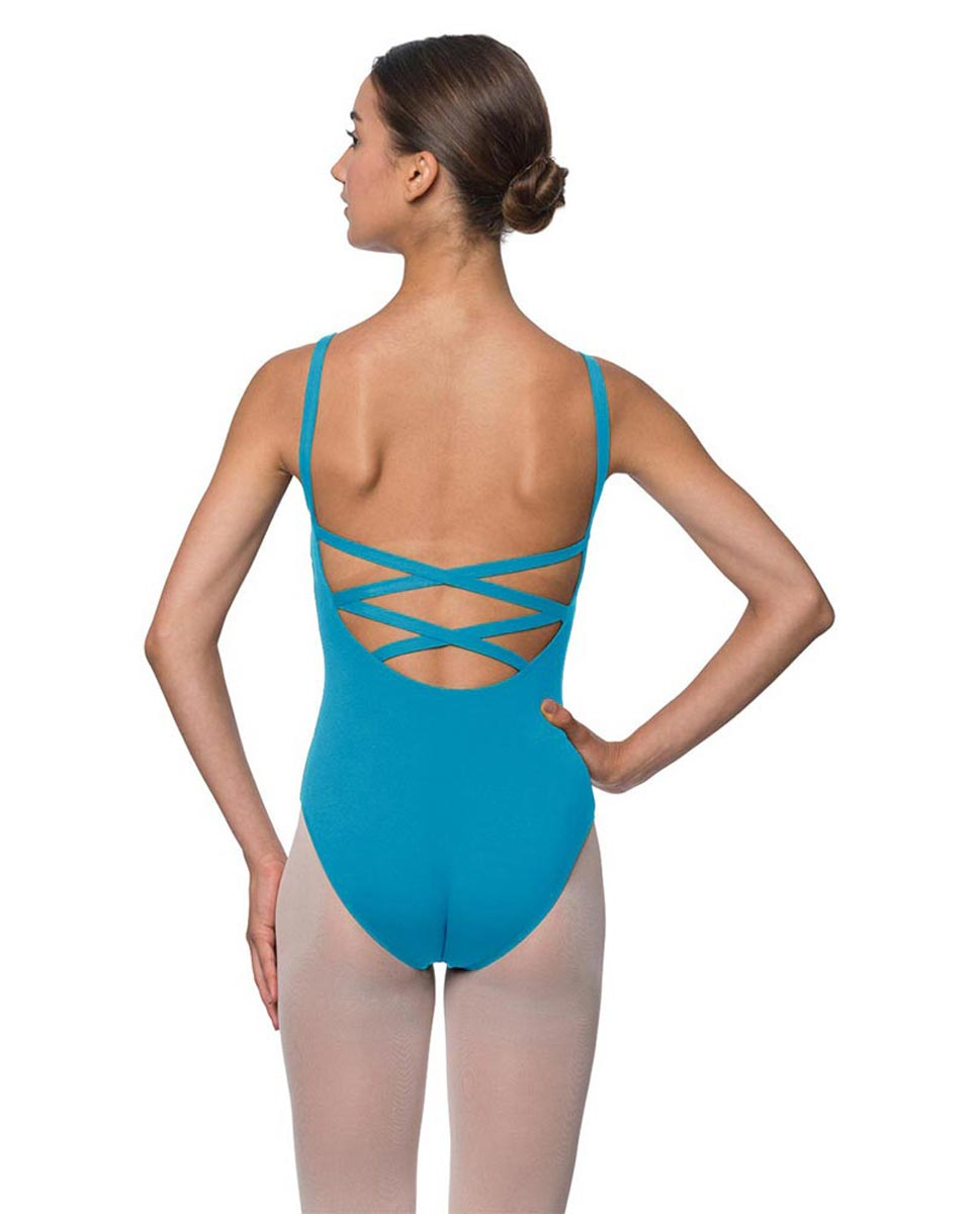 Adults Strappy Back Camisole Dance Leotard Veronica TUR