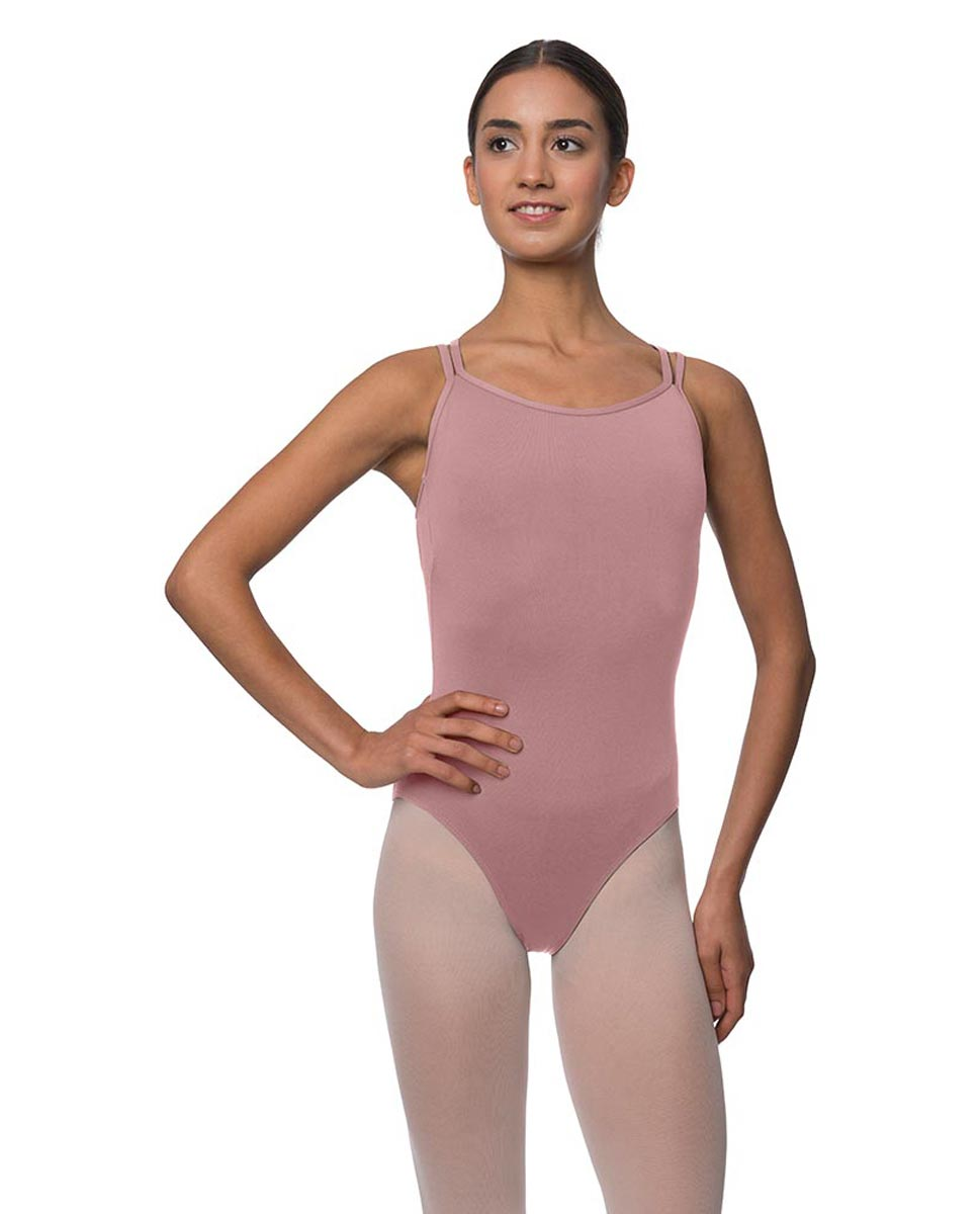 Womens Double Crossed Straps Camisole Dance Leotard Nina DROS