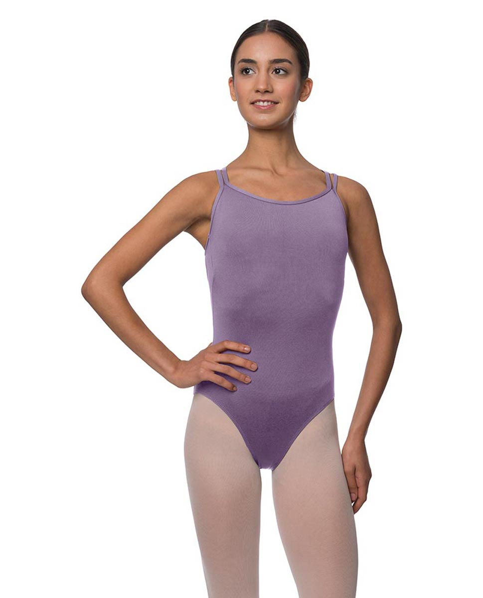 Womens Double Crossed Straps Camisole Dance Leotard Nina LAV