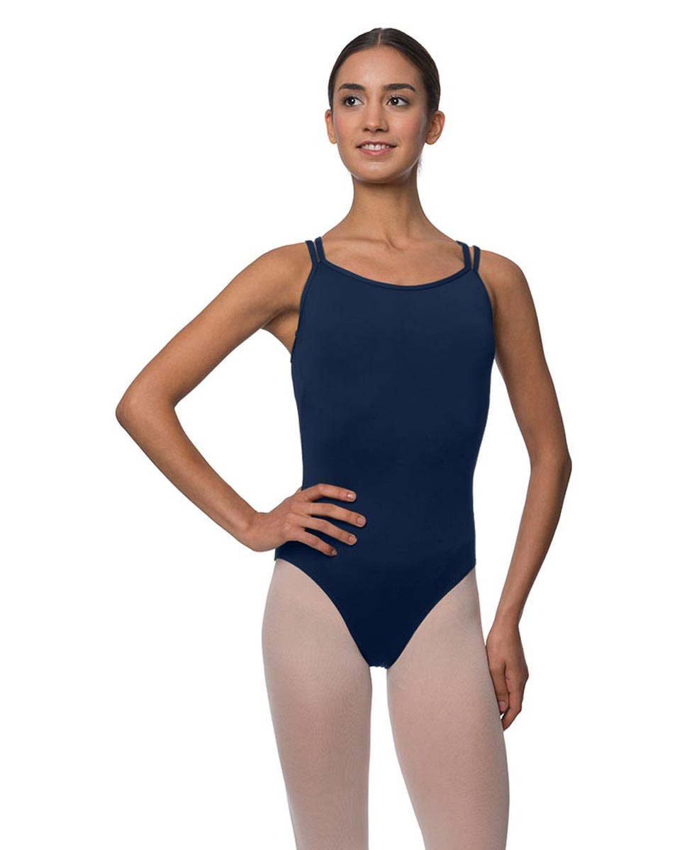 Womens Double Crossed Straps Camisole Dance Leotard Nina NAY