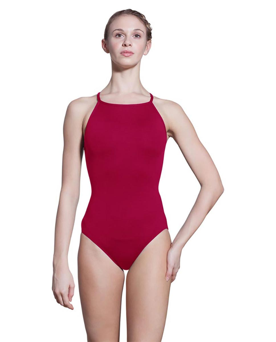 Adults Camisole Spiderweb Back Dance Leotard Rory DRED