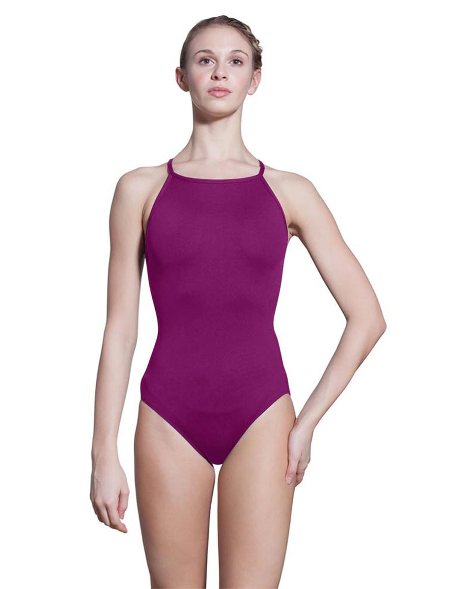 Adults Camisole Spiderweb Back Dance Leotard Rory GRAP