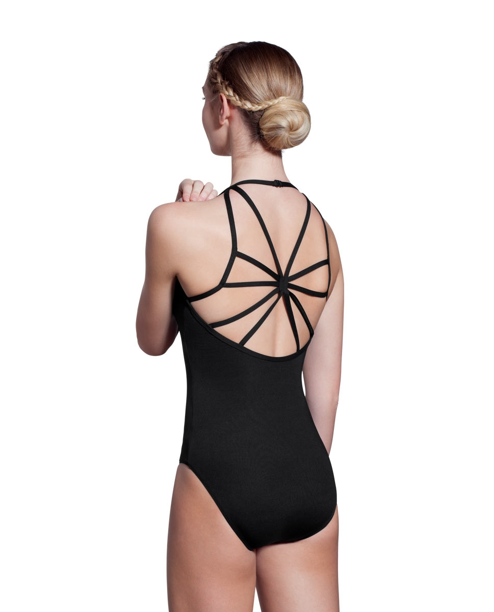 Adults Camisole Spiderweb Back Dance Leotard Rory back