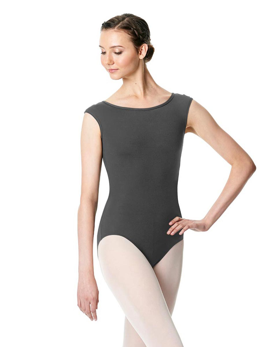 Cap Sleeve Open Back Dance Leotard Farah DGRE