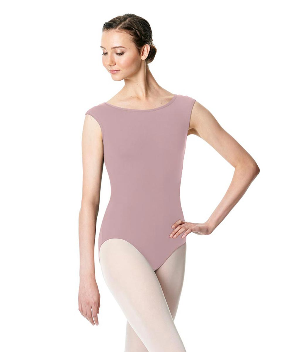 Cap Sleeve Open Back Dance Leotard Farah DROS