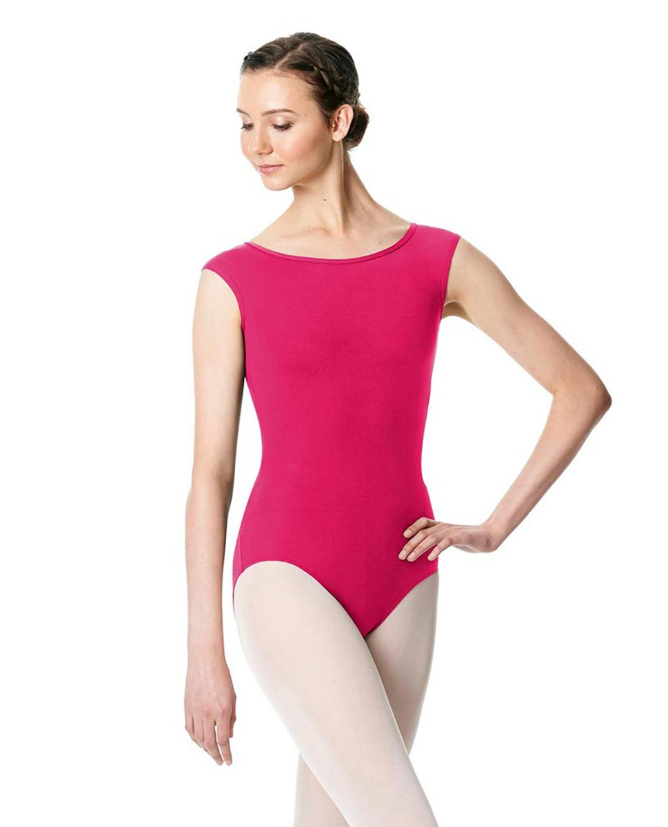 Cap Sleeve Open Back Dance Leotard Farah FUC