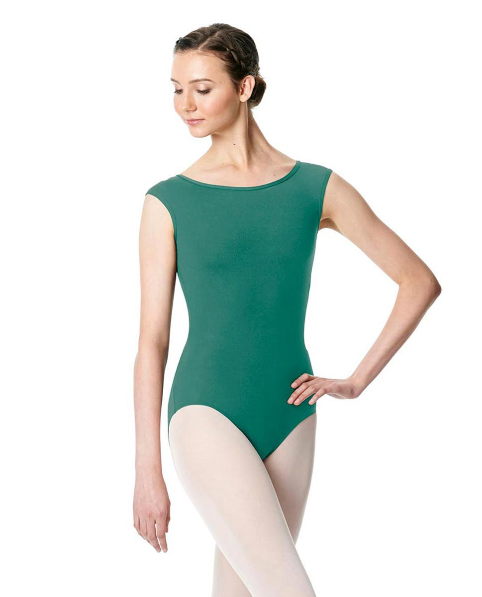 Cap Sleeve Open Back Dance Leotard Farah JAD