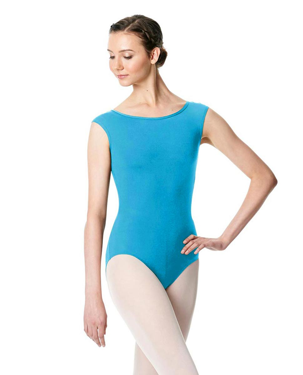 Cap Sleeve Open Back Dance Leotard Farah TUR