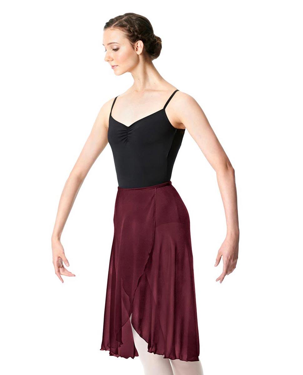 Midi Length Wrap Dance Skirt Addison BUR