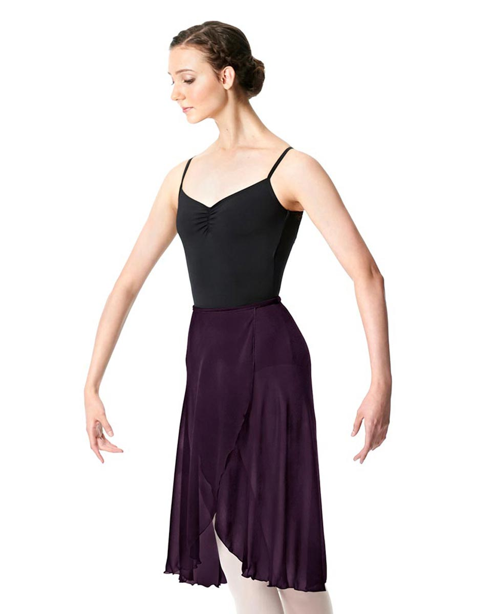 Midi Length Wrap Dance Skirt Addison AUB