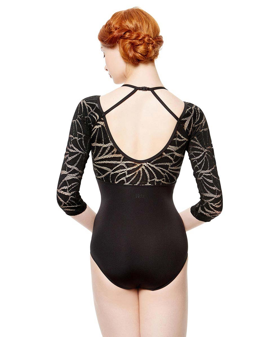Adult Microfiber and Mesh  Dance Leotard Leticia 2-adult-micofiber-and-mesh-dance-leotard-leticia