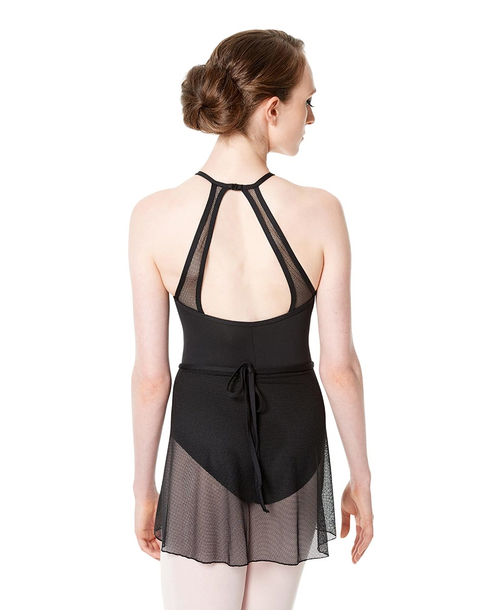Womens Wrap Mesh Dance Skirt Serena back