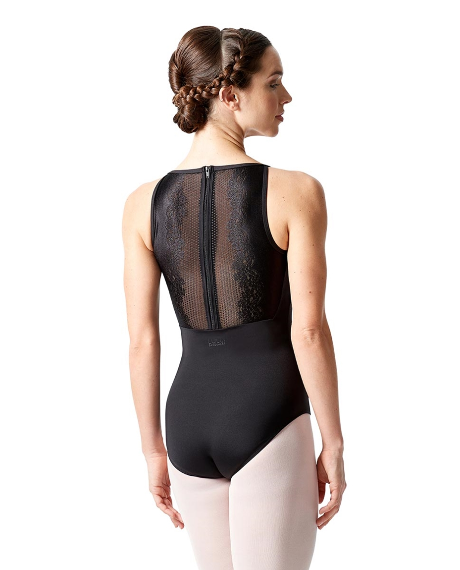 Womens Zip Back Lace Dance Leotard Sonia back-womens-zip-back-lace-dance-leotard-sonia