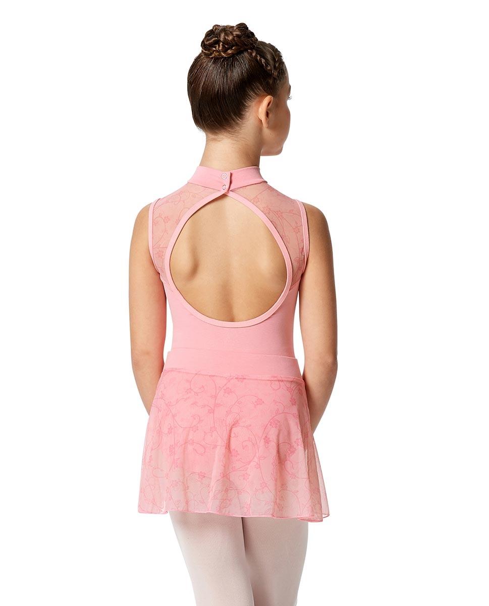 Girls Lace Dance Skirt Melania back