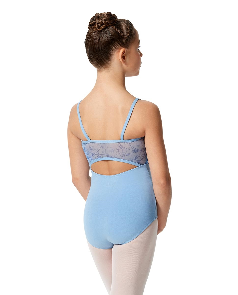 Girls Camisole Lace Dance Leotard Catalina back