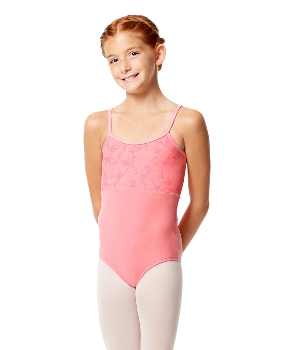 Girls Camisole Lace Dance Leotard Catalina PEA