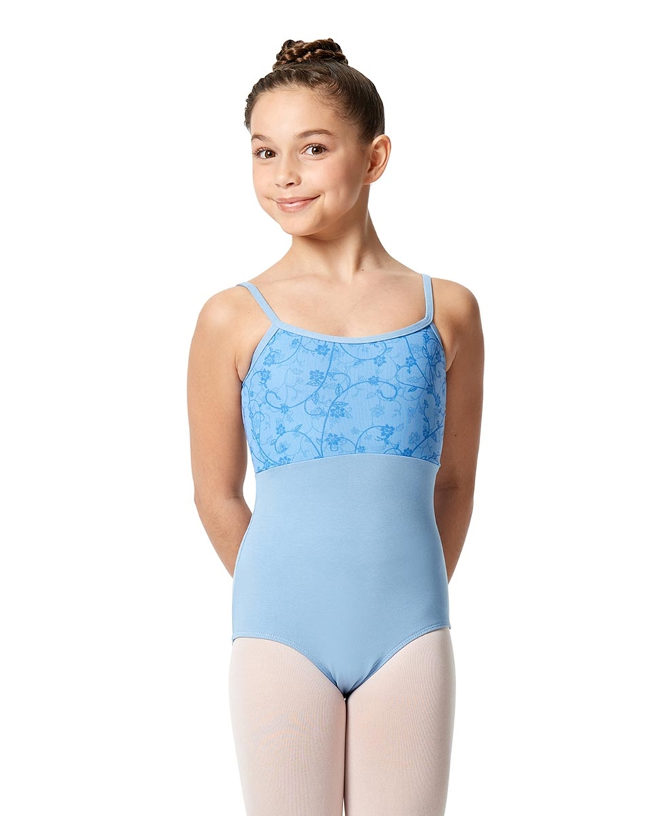 Girls Camisole Lace Dance Leotard Catalina SKY