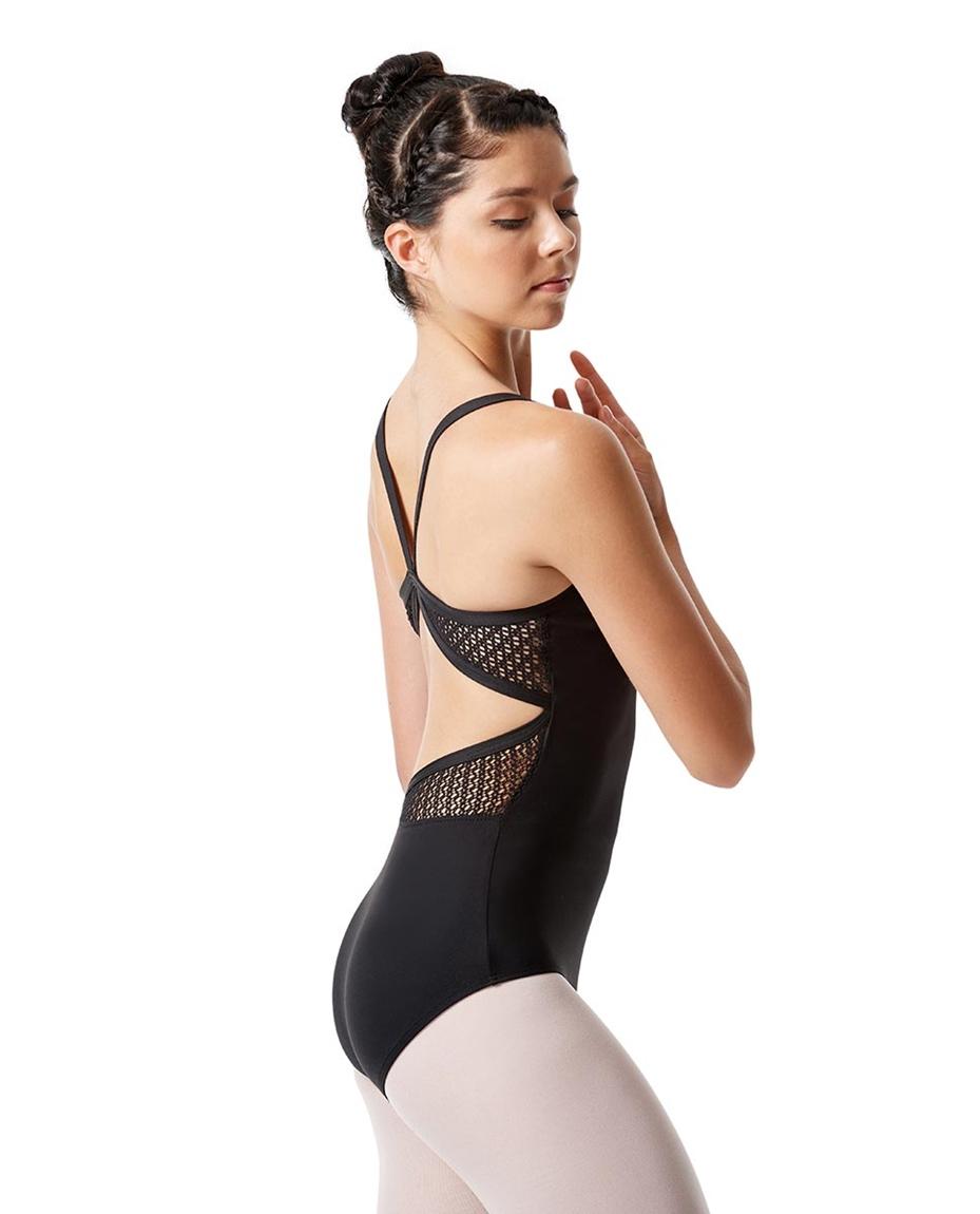 Womens Camisole Mesh Dance Leotard Donatella detail